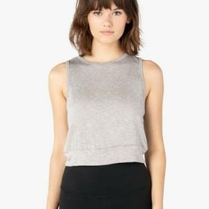 Beyond Yoga Go Easy Cropped Tank Active